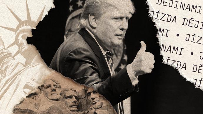 Kennedyho přeceňujeme, Nixonovi křivdíme a Trump těsně vyhraje, říká v Jízdě dějinami Martin Kovář